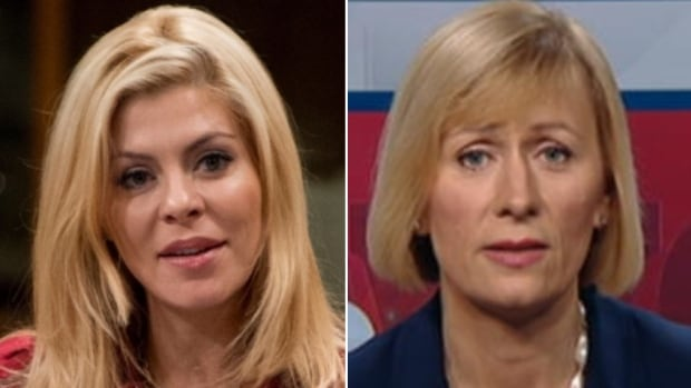 Tories in Oakville North-Burlington were to cast ballots for either MP Eve Adams, left, or chiropractor Natalia Lishchyna on May 24, but the party has postponed the nomination meeting to review complaints.
