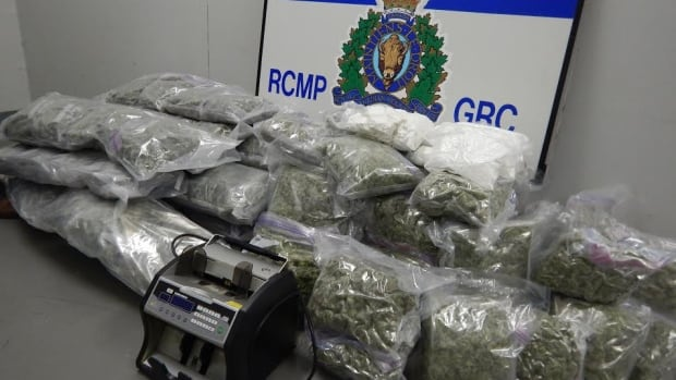RCMP say these drugs were seized from a home on Empire Avenue in St. John's on Thursday.