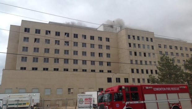 Fire at Camsell Hospital