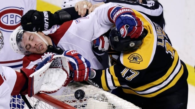 Milan Lucic of Boston and Brendan Gallagher of Montreal are already building up a healthy hate.