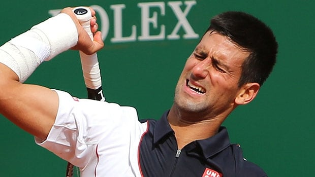 Novak Djokovic lost in the semifinals at Monte Carlo last month to Roger Federer while playing with a sore right wrist.
