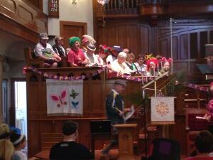 Choir at First Wesley Church