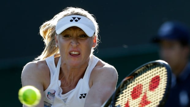 Elena Baltacha, seen at Wimbledon in 2012, reached the third round at Grand Slam events.