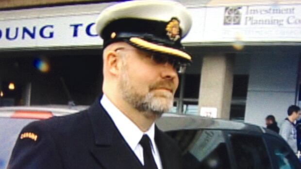 Lt. Derek de Jong was charged with desertion after leaving HMCS Preserver in September 2012, while it was docked in Florida.