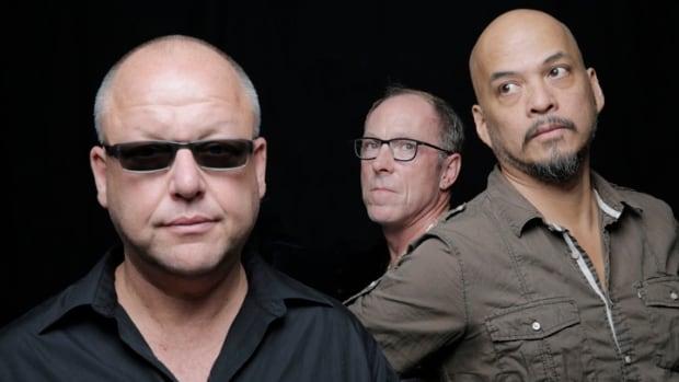 Black Francis (left), David Lovering (middle) and Joey Santiago.