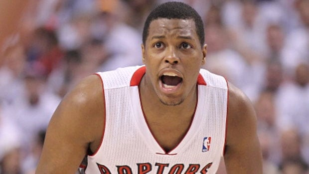"Toronto Raptors point guard Kyle Lowry ""loves"" his situation with the team but wouldn't guarantee on Monday that he'll return once he officially becomes a free agent in July."