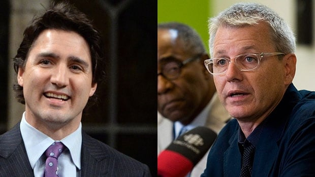 Liberal Leader Justin Trudeau introduced Adam Vaughan as the Liberal candidate in Toronto Trinity-Spadina riding.