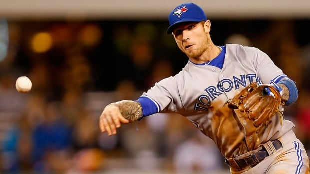 Blue Jays third baseman Brett Lawrie was forced to leave Monday night's game in Philadelphia in the fourth inning with tightness in his right hamstring after trying to beat out a ground ball. He's listed as day to day.