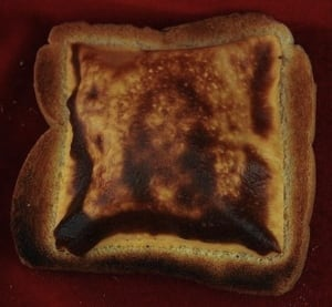 Grilled cheese Jesus
