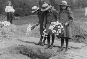 Mourning in the 1920s