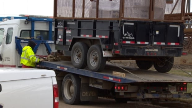 Edmonton police say more than half of the commercial vehicles they inspected Tuesday meet safety standards for city streets.