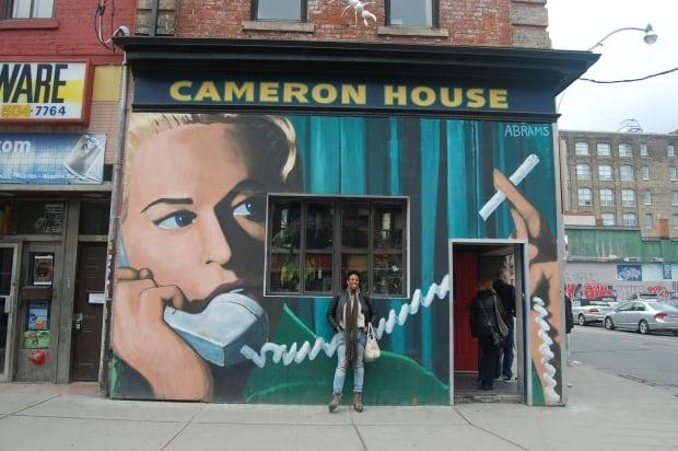 Shakura S'aida at the Cameron House