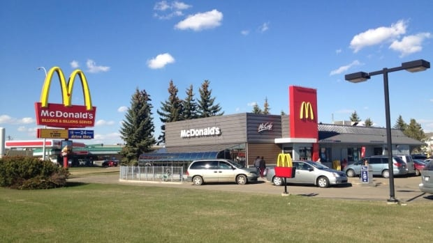 The stabbing happened at this McDonalds restaurant, located near 55th Street and 37A Avenue in Wetaskiwin, Alta.