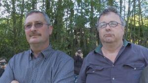 Chris Griffiths (l) and Mark Heath (r)