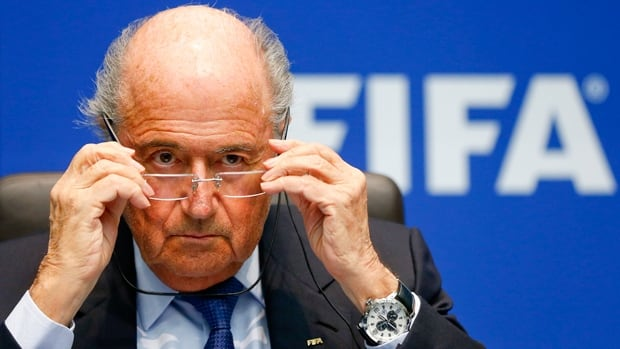 FIFA president Sepp Blatter, who has presided over soccer's governing body since 1998, is hinting at a fifth term at the helm.