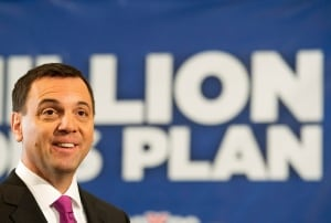 Hudak touts million-jobs plan