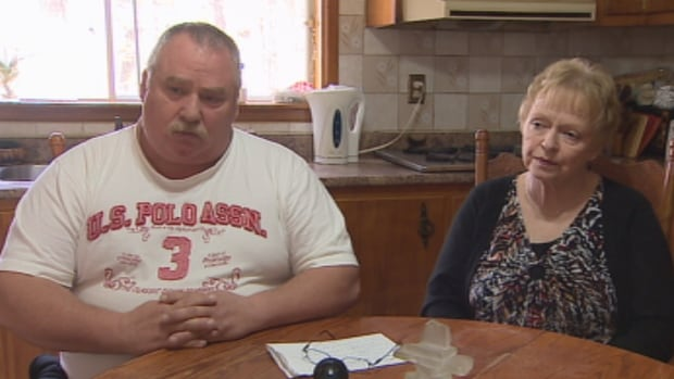 Scott Falconer (left) and his wife Sue Kelly say they support Chris Falconer's appeal.