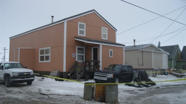 RCMP were called to this house in Rankin Inlet on May 8, where they found an injured man who later died.