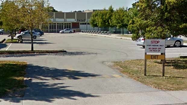 Teachers in Vancouver will have to pay for parking in school lots, like this one at Lord Byng, starting in September.