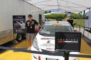 Damon Surzyshyn's race car
