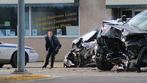 A shooting in St. Paul, Alta. has left one gunman dead and three RCMP officers wounded.