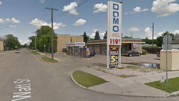 Police said a woman robbed a Domo gas bar Friday on Watt Street and made out with an undisclosed amount of cash from the register.