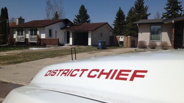 The fire started in the attic of a Bayshore Cove home in Southdale.