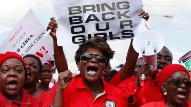 Marches for abducted Nigerian girls