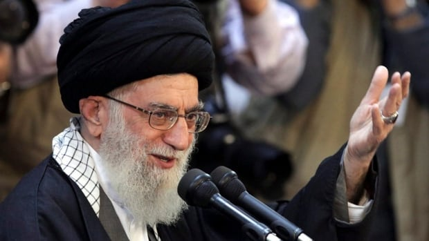 "In his first public comments on the letter sent to Iran by U.S. Republicans, Khamenei said it represents the ""collapse of political ethics."""