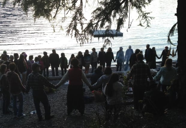 Slocan Lake canoe accident - healing ceremony