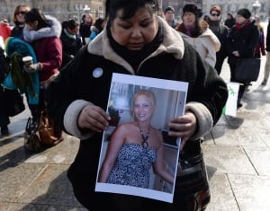 missing and murdered aboriginal women vigil 20140305
