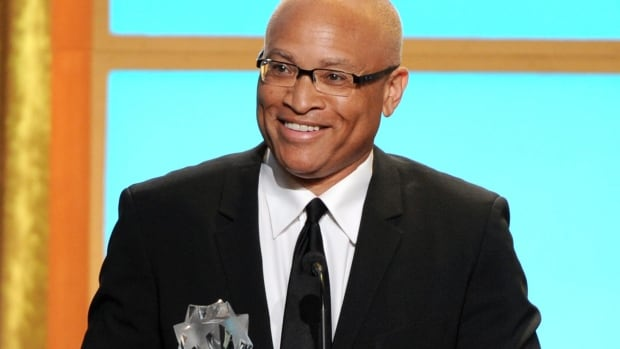 Larry Wilmore, seen at the Critics' Choice Television Awards in 2013, has earned Stephen Colbert's coveted Comedy Central timeslot following Jon Stewart each night.