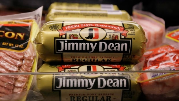 Tyson Foods is buying Hillshire Brands, maker Jimmy Dean premium pork sausage, to acquire its profitable prepared foods and breakfast products line.