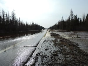 Highway 101 washout