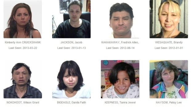 Regina Police Service lists 16 long-term missing persons cases on its website.
