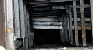 Dredging shaft