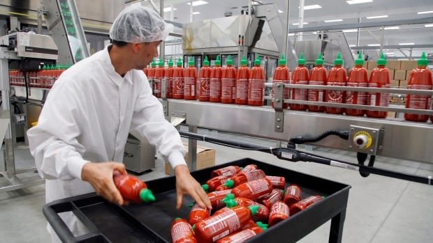 The factory that makes Sriracha hot sauce has had problems with the city it's in, Irvingdale, over fumes it emits in recent months.