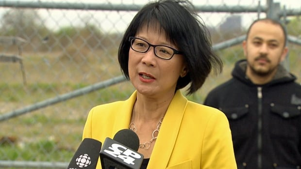 If elected as Toronto's next mayor, Olivia Chow says she would seek to make youth jobs and apprenticeships a requirement for companies bidding on big infrastructure and capital project contracts.