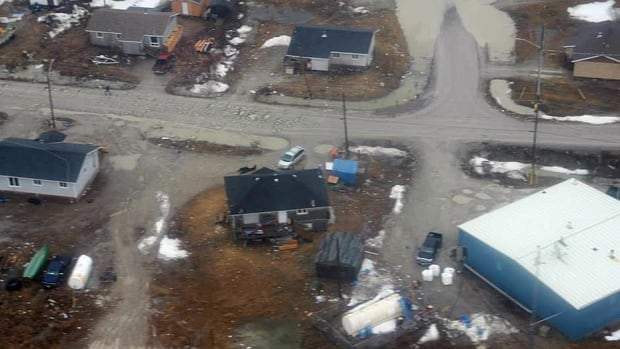 Provincial officials say just a few community members and band officials of the Kashechewan First Nation remain to look after local infrastructure. Hundreds of people have been evacuated since the weekend after a state of emergency was declared due to rising waters on the nearby Albany River.