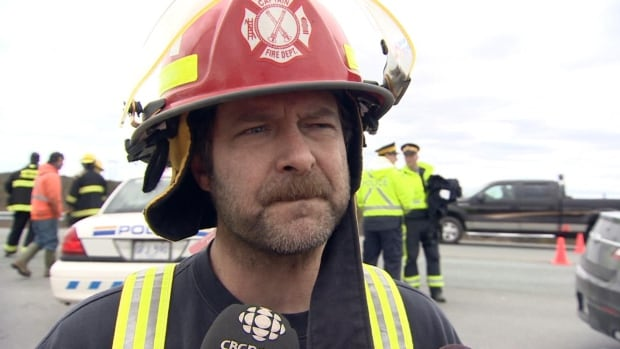 Ray Gosse, captain of the Whitbourne Volunteer Fire Department, says responding to his first fatal collision was a nerve-racking experience.