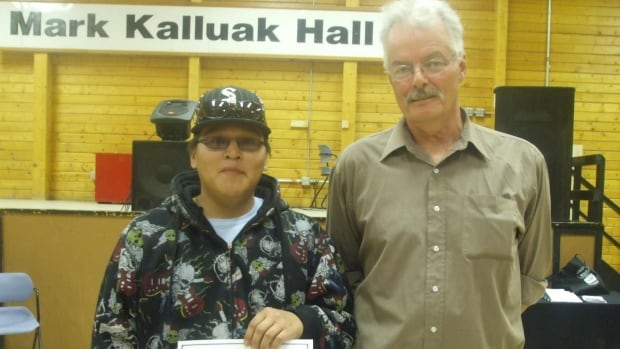 Robert Gibbons Jr of Arviat and Rob Hood of Ontario went missing near the community on May 10. Gibbons was a student in a recent drilling course taught by Hood. The two left the community by snowmobile during the annual fishing derby.