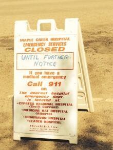 Maple Creek hospital