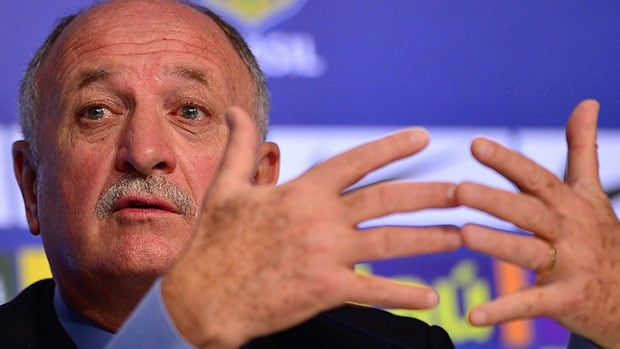 Unconfirmed reports in Brazil and the Netherlands say Luis Felipe Scolari is suspected of failing to declare millions of dollars in income, but he has denied any wrongdoing.