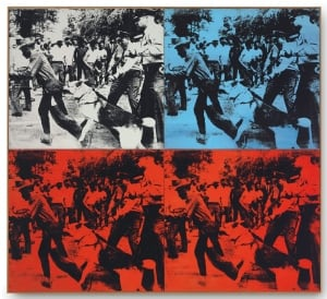 Andy Warhol, Race Riot