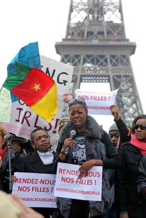 France Nigeria Kidnapped Girls