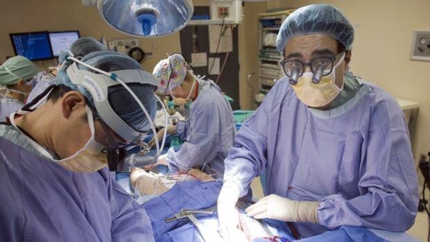 Dr. Subodh Verma performs an aortic aneurysm repair at St. Michael's Hospital in Toronto in 2011.