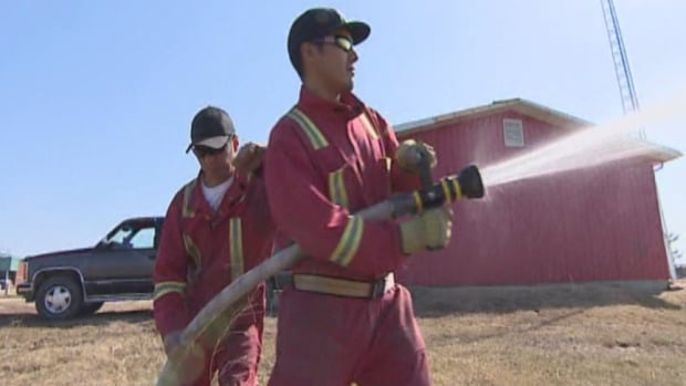 Sturgeon Lake First Nation will now depend on its volunteer fire fighters to put out fires on reserve.