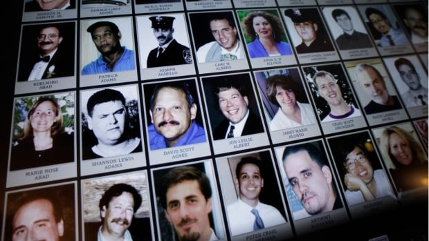 Electronic images of victims of the attacks of Sept. 11, 2001, are part of the museum, which opened to the public on Wednesday.