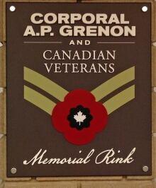 AP Grenon sign