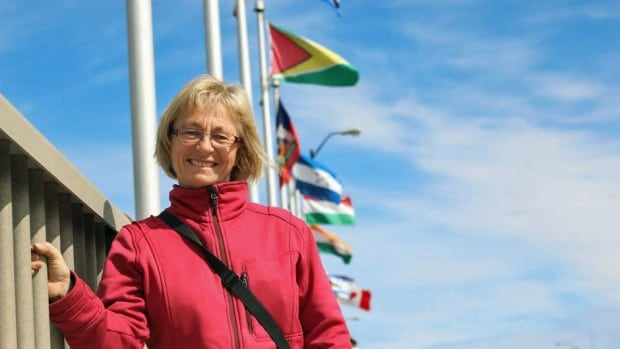 Ursula Sauve, who is on the Bridge of Nations committee in Sudbury, says the elements take their toll on the flags, which is why they need to be changed throughout the year.
